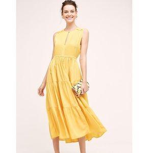 NWT Anthropologie Sunfield Dress L